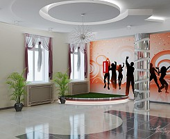 Дизайн холла ДК