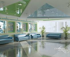 Дизайн холла спорт комплекса
