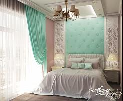 Интерьер спальни с элементами прованса